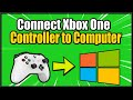 How to Connect Xbox One Controller to PC Wireless or Wired (Windows 10 Tutorial)
