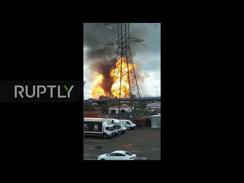Russia: Number of casualties reaches 12 in Moscow Region power plant fire