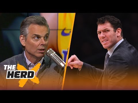 Is LaVar Ball actually right about Lakers coach Luke Walton? | THE HERD
