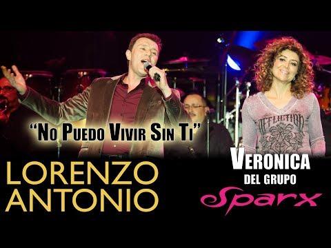 Lorenzo Antonio y Veronica del grupo SPARX -
