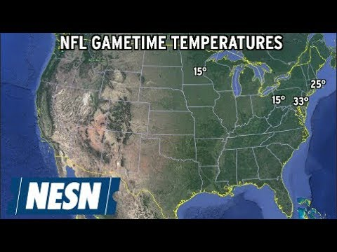 NFL Weather Report For Divisional Playoffs Games - YouTube 1323c1338