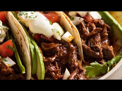 Mexican SHREDDED Beef And TACOS!