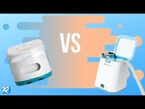 COMPARE LUMIN VS SO CLEAN CPAP SANITIZERS // How to Clean my CPAP