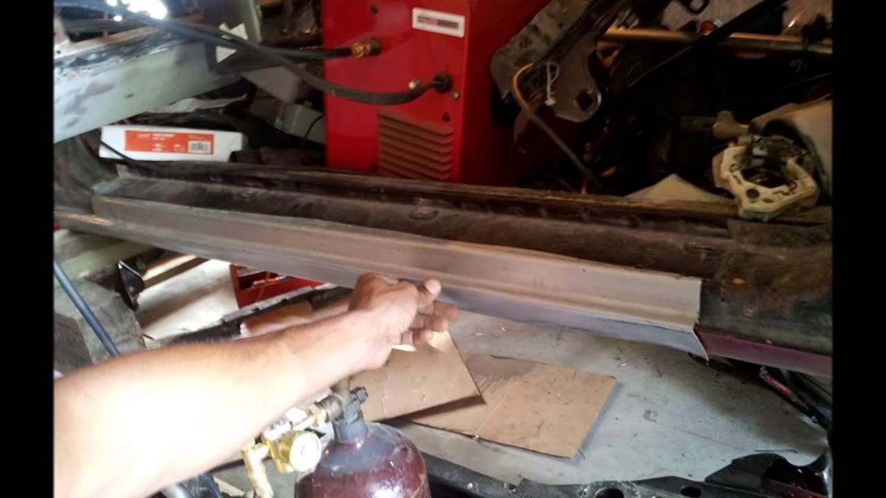 Cutlass Update Rocker Panel Replacement Youtube