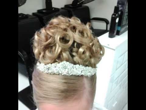 I Styled My Daughter S Hair For Her First Holy Communion