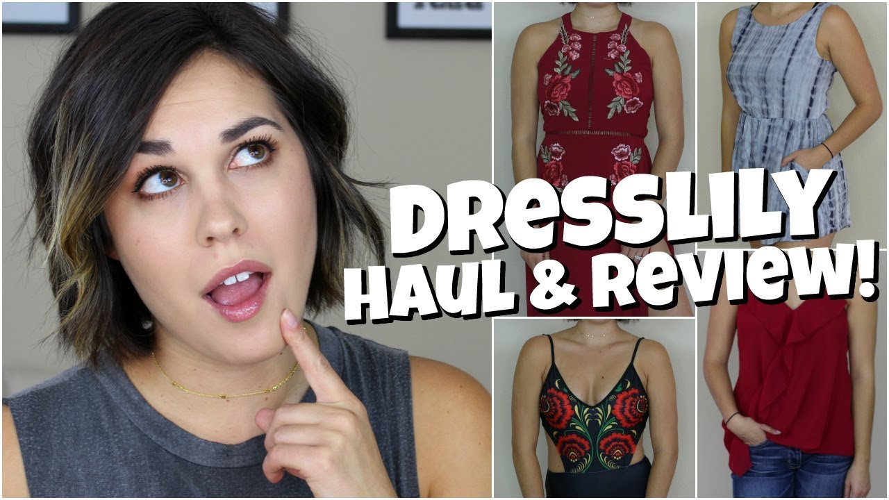 886f446f93 DRESSLILY TRY ON HAUL   HONEST REVIEW! - YouTube