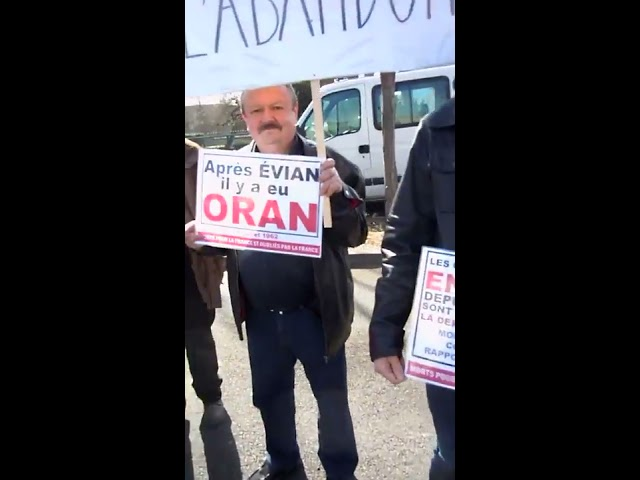 Contre-manifestation à Issoire (63) - Intervention de François Veyret - 19/03/2017