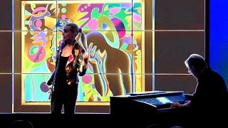 KALIMBA DE LUNA - Mark Kostabi & GREESI DESIREE LANGOVITS - Aug. 2015 (Official LIVE Video)