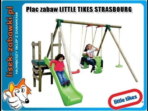 hu tawka little tikes drewniany plac zabaw strasbourg. Black Bedroom Furniture Sets. Home Design Ideas