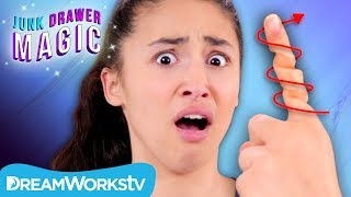 Finger Twister Trick | JUNK DRAWER MAGIC