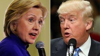 Clinton tells Trump to delete his Twitter account
