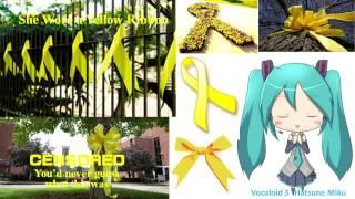 【Hatsune Miku】She Wore a Yellow Ribbon.【Vocaloid 3】