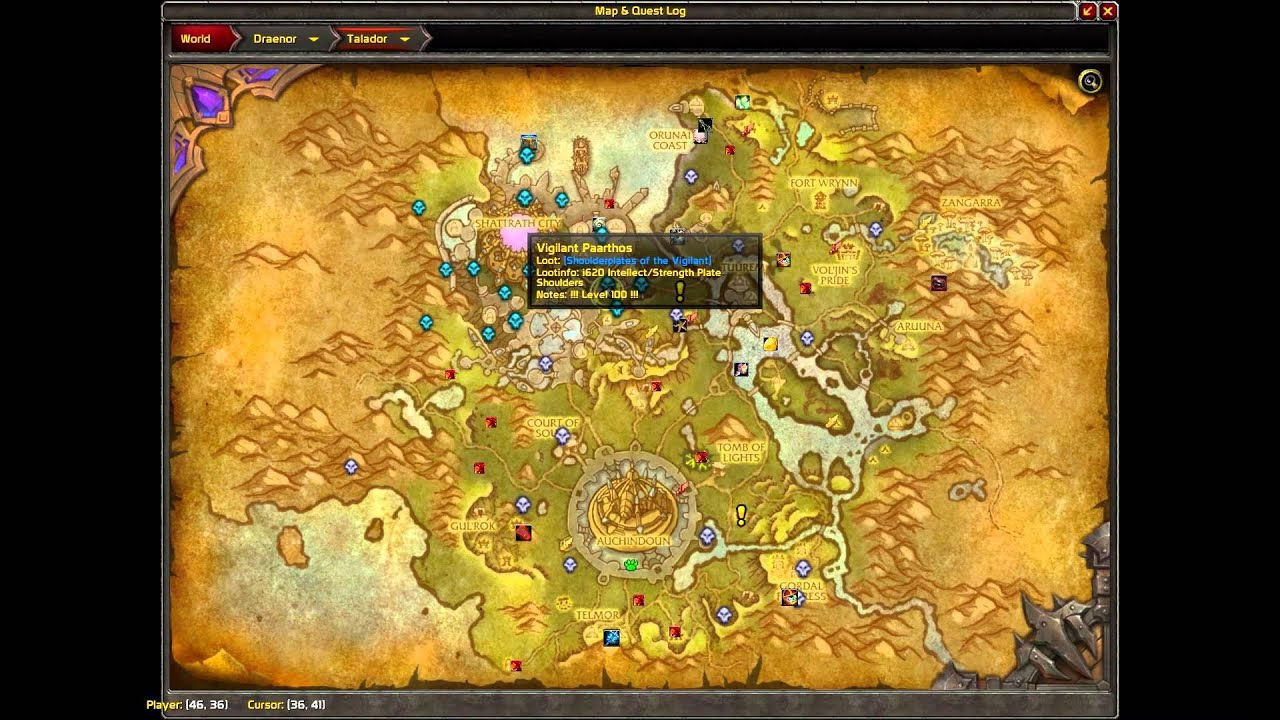 Image Of Archmage Vargoth Follower Guide Warlords Of Draenor Wod Youtube