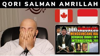 Download Qori Salman Amrillah Juara MTQ International 2019 - Reaction (BEST REACTION)