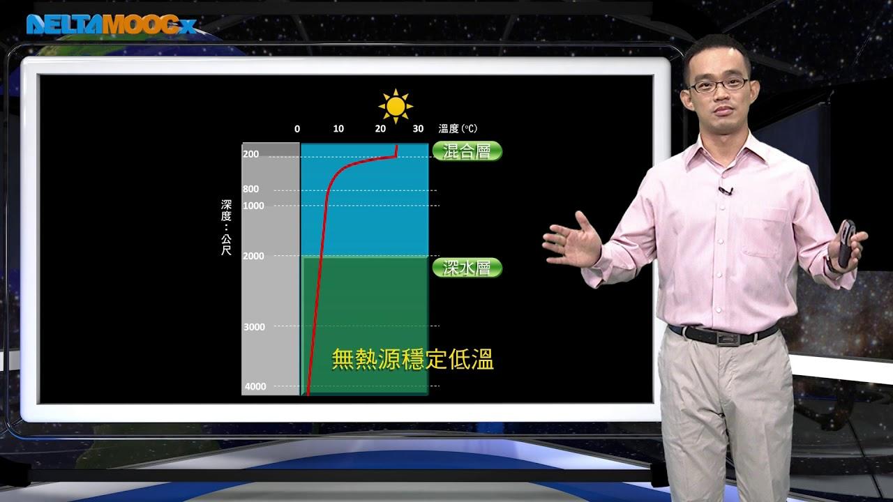 高中地球科學_基礎地球科學_大氣與海洋的結構_3.海水溫度分層_曾世佑 - YouTube
