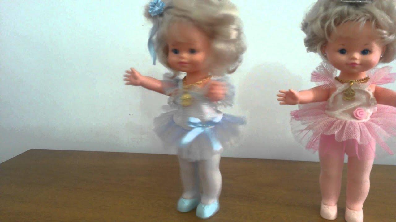 Anos 80 Bonecas Bailarinas Dancinha Estrela