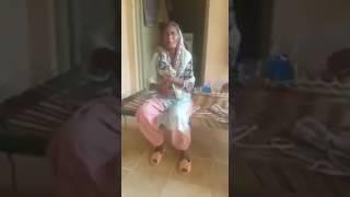 Old drunken women patiala dance