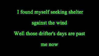 Bob Seger & Silver Bullet Band - Against The Wind with lyrics