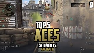 COD WWII: TOP 5 ACES OF THE WEEK #9 - Call of Duty World War 2