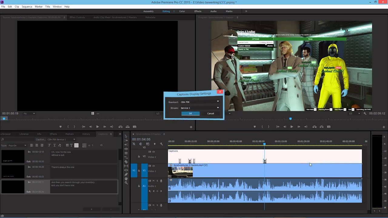 HOW TO PROPERLY MAKE CAPTIONS AND SUBTITLES IN ADOBE PREMIERE CC, FROM SCRATCH