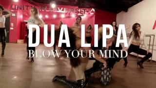 DUA LIPA | BLOW YOUR MIND | CHOREOGRAPHY- Michelle JERSEY Maniscalco