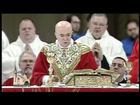 Solemn Mass of Palm Sunday with Pope Francis from Rome - 2014-4-13