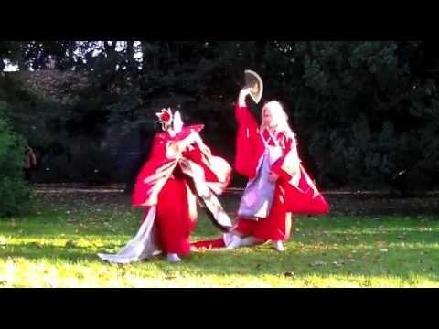 番凩 - Tsugai Kogarashi - Me de shireru yoru no junjou (cover dance)