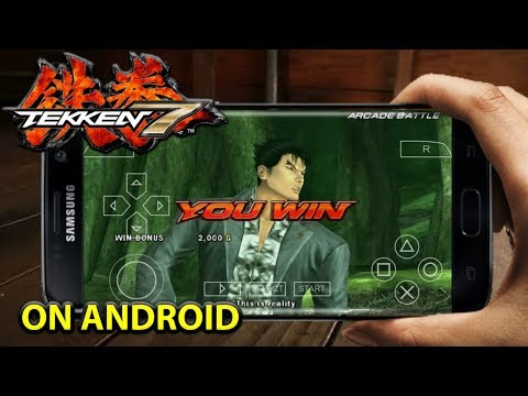 Tekken 7 Android Game Apk + ISO Data Download