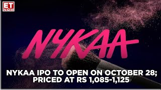 Nykaa IPO to open on October 28, price band at Rs 1,085-1,125 per share