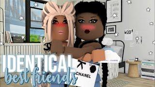 Identical Best Friend's School Morning Routine!♡ | Roblox Bloxburg | iiarabellaa