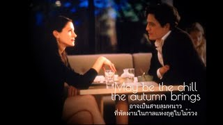 เพลงสากลแปลไทย #101# She - Ost.Notting Hill - Elvis Costello (Lyrics&Thaisub) ♪♫♫ ♥