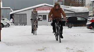 Сургутские общественники пересаживаются на велосипеды в знак протеста