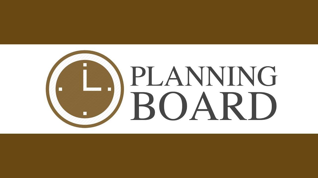 Planning Board 06/23/2020