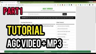 Download Cari Tema, Tutorial Website agc video