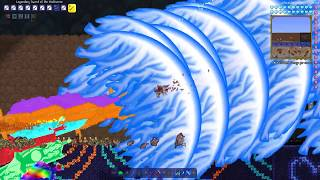 Terraria Supreme Buffed  Sword of The Multiverse vs Calamity Mod Boss Rush