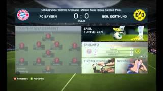 FIFA 14 BVB VS BAYERN GAMEPLAY