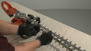 Echo Hedge Trimmer Blade Replacement #X411000271
