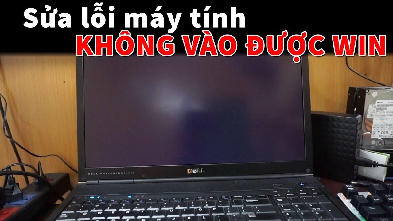 Sửa lỗi máy tính không vào được Win 10 - YouTube