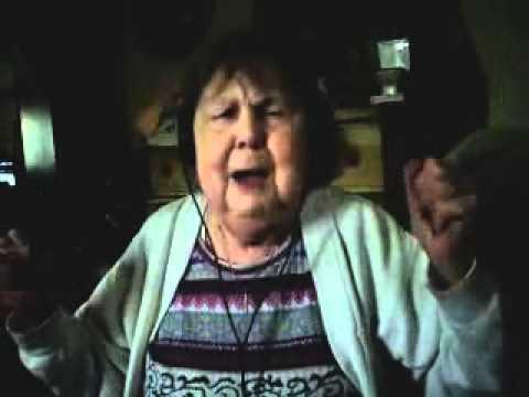 Grandma Singing Baby by Justin Beibers