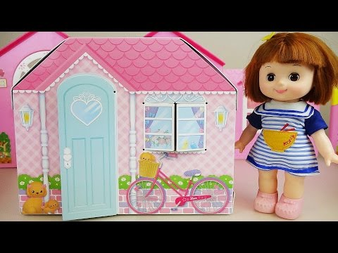 Baby Doll two story house toys