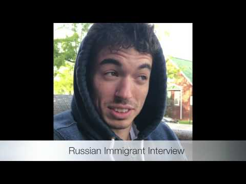 Multicultural Video Interview: Ethnic Immigrant Consumer (Russian Immigrant)