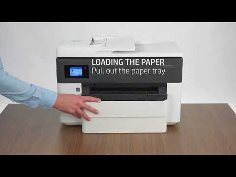 HP OfficeJet Pro 7730 - Unboxing & Setting Up