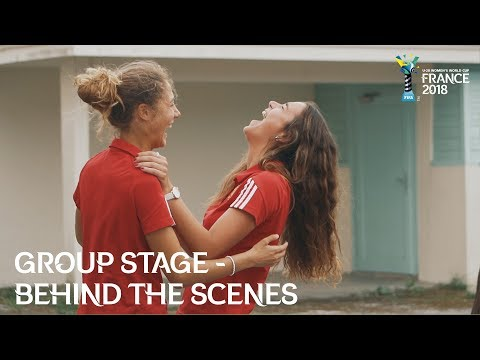 Group Stage - U20 Women Enjoying the Charms of Brittany