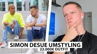 Justin reagiert auf Simon Desues Umstyling (22.000€) | Reaktion