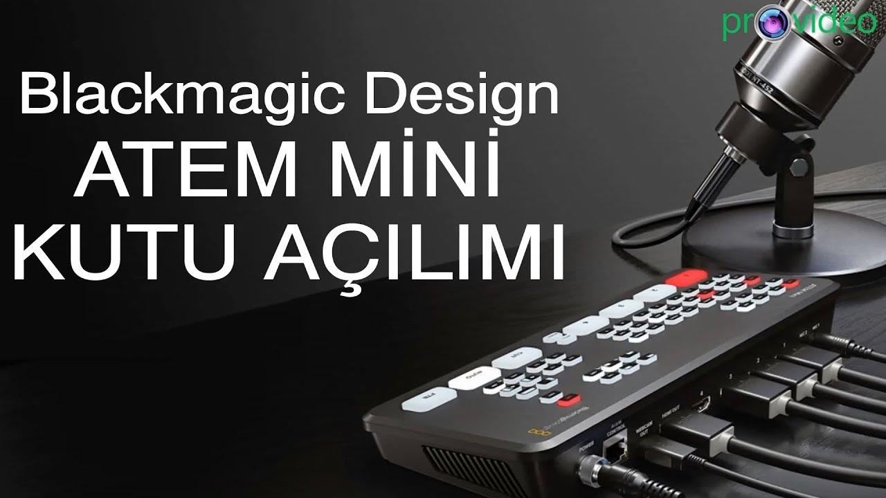 Blackmagic Design Atem Mini Canli Yayin Cihazi Provideo