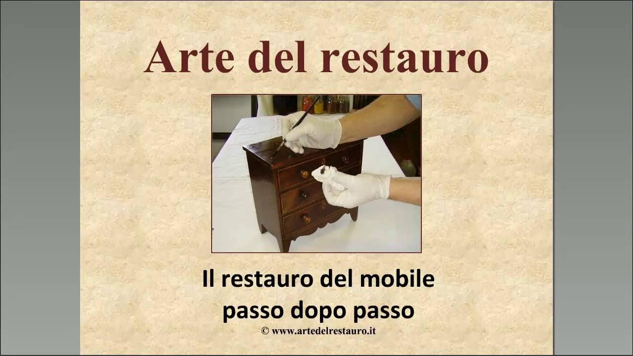 Arte Del Restauro.Il Restauro Del Mobile Video Registrazione Gratis Per Te