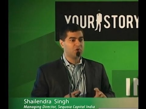 """""""Investments in E-commerce"""" by Shailendra Singh, Managing Director, Sequoia Capital India"""
