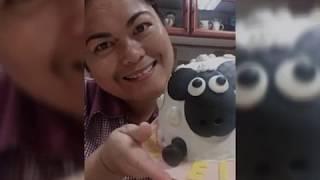 #2. SHAUN THE SHEEP CAKE