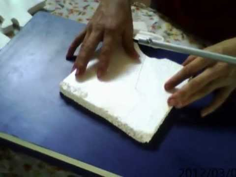 cortador de poroplast de mesa  YouTube