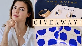 THANK YOU FOR EVERYTHING!! Giveaway with Ana Luisa Jewelry ✨💎(ad)